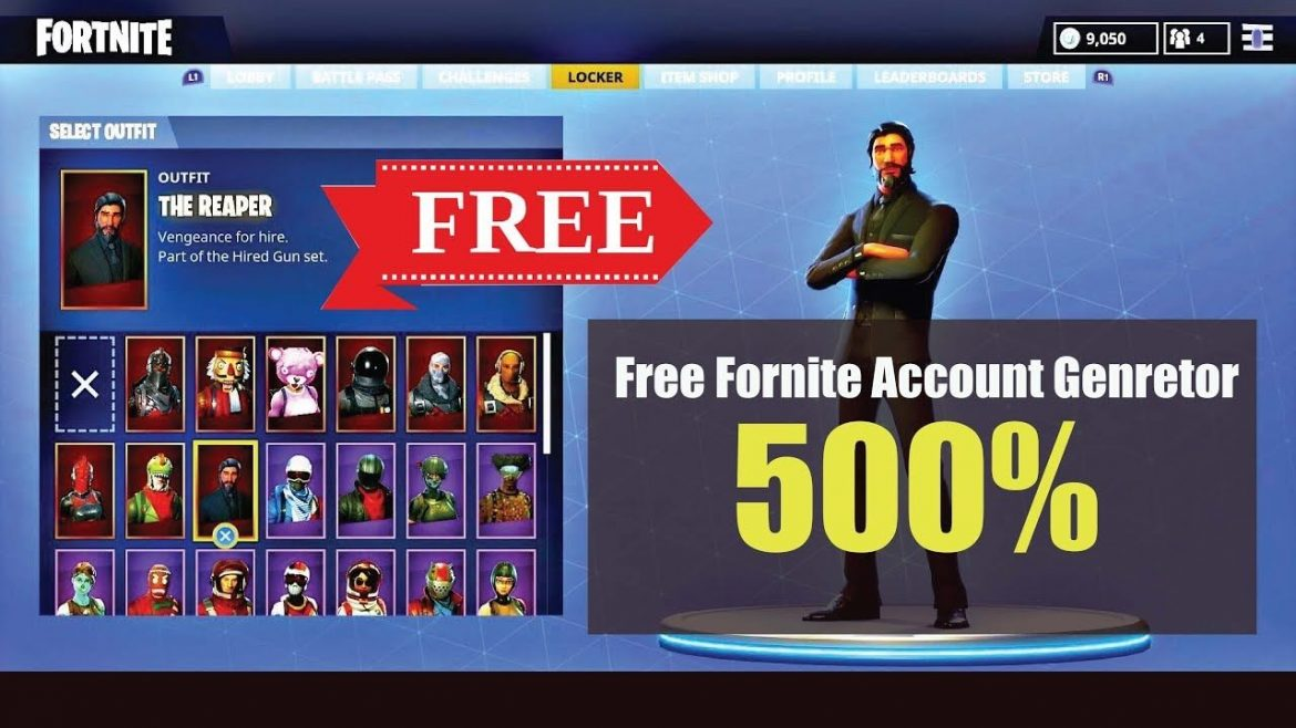 Tips About Free Fortnite Accounts
